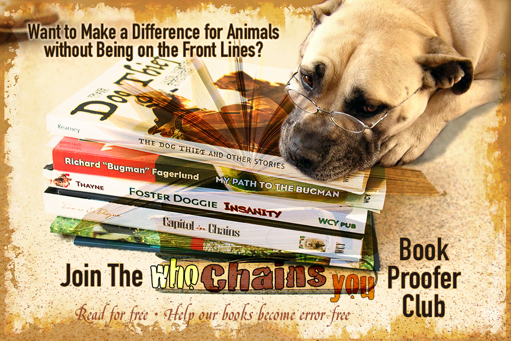 Who Chains You: Publishing and Spiritual Mentoring for Animal